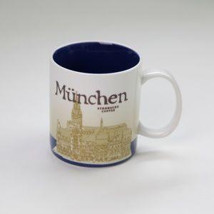 Starbucks Coffee Cup Mug Munchen Collector Series